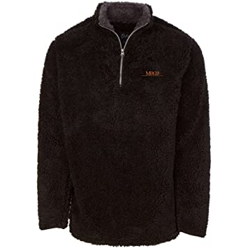 Amazon.com: NCAA – Chaqueta Sherpa manga larga 1/4 Zip ...