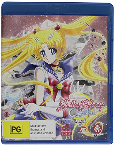 Sailor Moon Crystal Set 1: Eps 1-14 [Blu-ray]