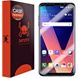 LG V30 Screen Protector (Case Friendly)[2-Pack], Skinomi TechSkin Full Coverage Screen Protector for LG V30 Clear HD Anti-Bubble Film
