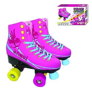 Patines de ruedas, patines profesionales a ruedas, patines niña, patines Angel 4 ruedas