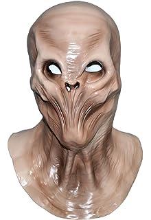 Predator Skeleton Carnival Party Halloween Costume Realistic Alien Mask