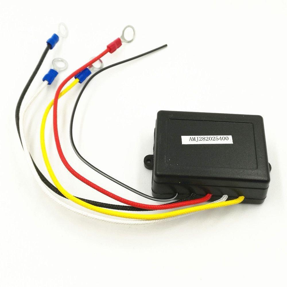 Universal-Fernbedienung f/ür Seilwinde f/ür Auto 2 Sender kabellos