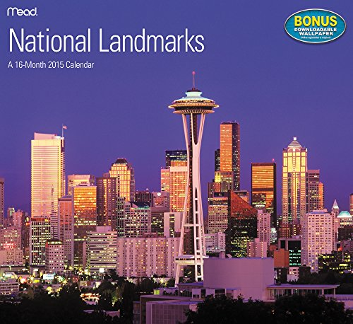 National Landmarks Wall Calendar (2015) (2015 Wall National Calendar)