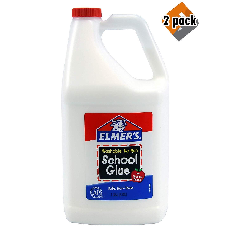 Elmers Liquid School Glue Washable - Great for Making Slime (2 Pack)