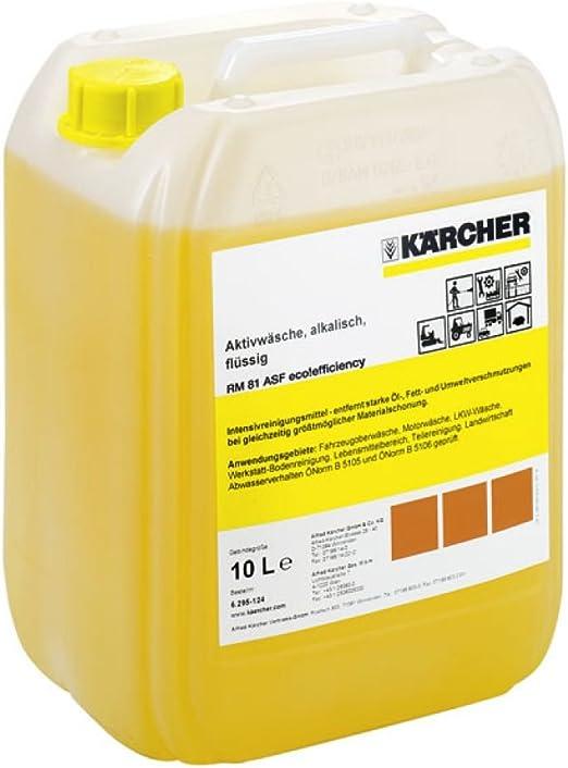 Aktivreiniger Alkalisch Rm 81 Asf Eco Efficiency Nta Free 10 L Kärcher 6 295 643 0 Baumarkt