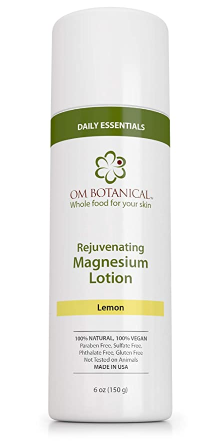 Om Botanical Rejuvenating Magnesium Lotion
