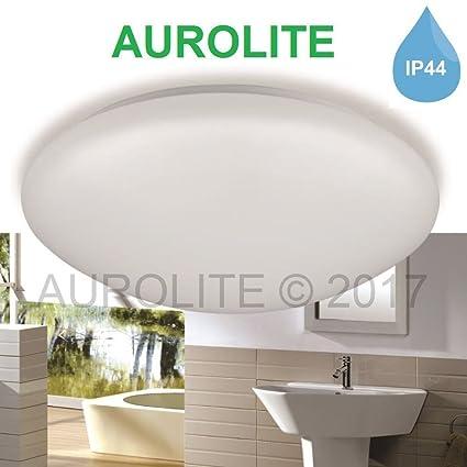 aurolite LED 12 W IP44 luces de techo, 26 cm de diámetro, 950lm ...