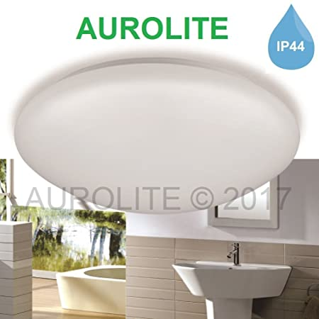 Aurolite led 12w ip44 ceiling lights ø 26cm warm white 3000k 950lm