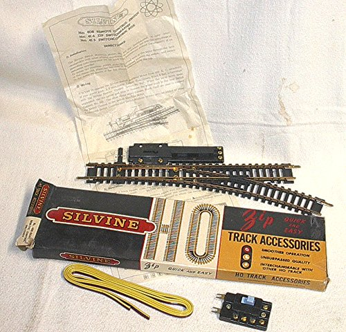 Track Switch Control Remote (HO Scale Vintage SILVINE Right remote switch tracks - NEW OLD Stock)