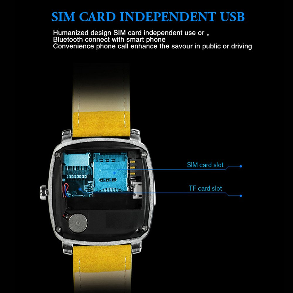 iradish X3 mirando inteligente SmartWatch 2 G GSM (mtk6261d ...
