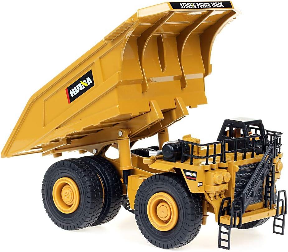 Dump Truck duturpo 1//40 Scale Diecast Heavy Metal Dump Truck Metal Construction Vehicles Trucks Toys for Boys Kids