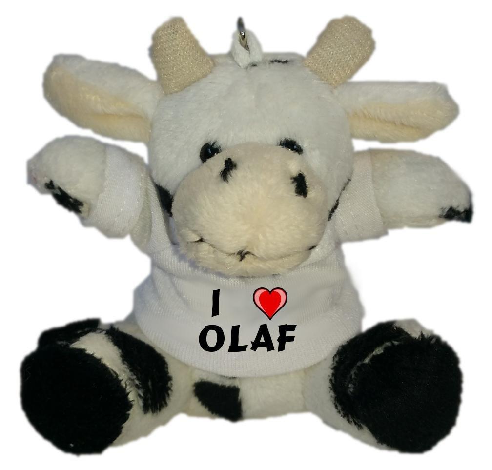 Shopzeus Vaca de Peluche (Llavero) con Amo Olaf en la ...