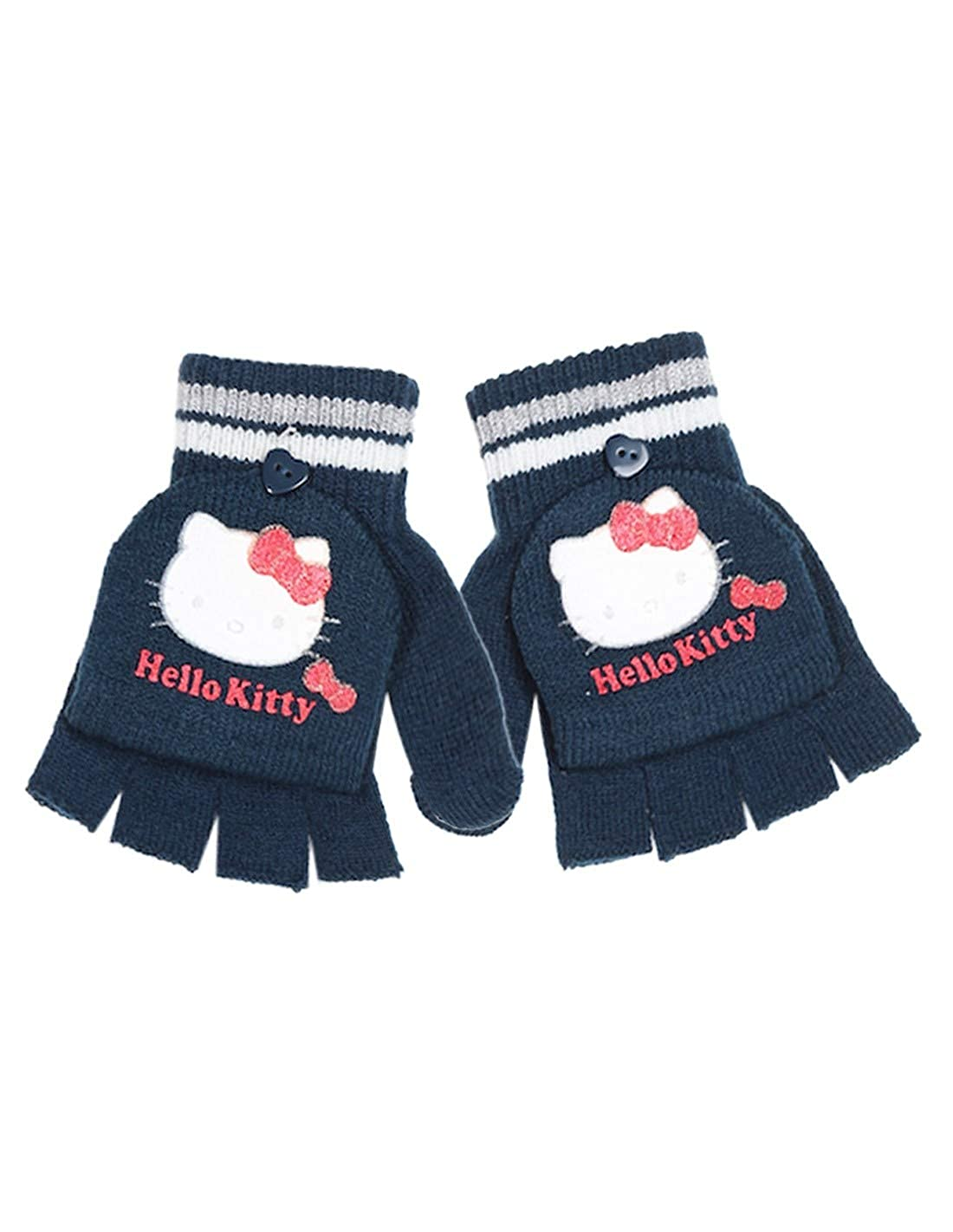 Hello Kitty M/ädchen Handschuhe