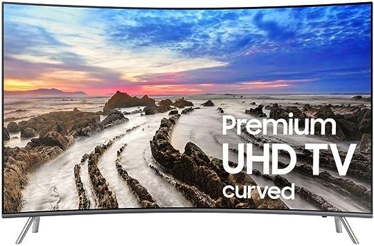 Televisor Samsung Electronics UN55MU8500 Curvo 4K Ultra HD Smart LED de 55 Pulgadas (Modelo 2017): Amazon.es: Electrónica