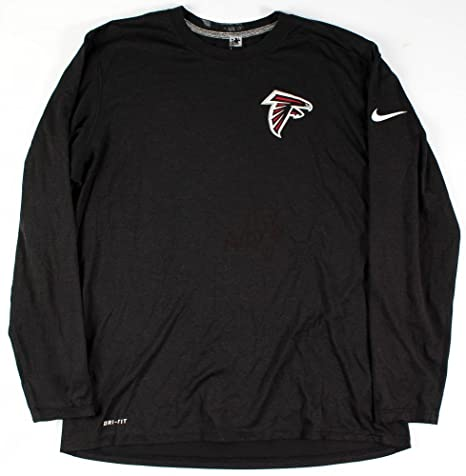 bcea30617c0ef Amazon.com: Bernard Reedy Signed Nike Falcons Game-Used Long-Sleeve ...