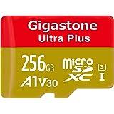 Gigastone 256GB Micro SD Card A1 V30 U3 C10 Class 10 Micro SDXC UHS-I Memory Card with MicroSD to SD Adapter High Speed 4K Ultra HD Video Camera Canon Dashcam DJI Drone GoPro Nikon Nintendo Samsung (Tamaño: 64GB MLC)
