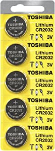 Toshiba CR2032 3 Volt Lithium Coin Battery (25 Batteries)