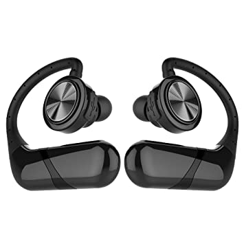 Y1Cheng Auriculares Bluetooth Wireless Bluetooth Estéreo Auriculares Deportivos Impermeables Auriculares Inalámbricos con Micrófono Equipo Móvil 10M ...