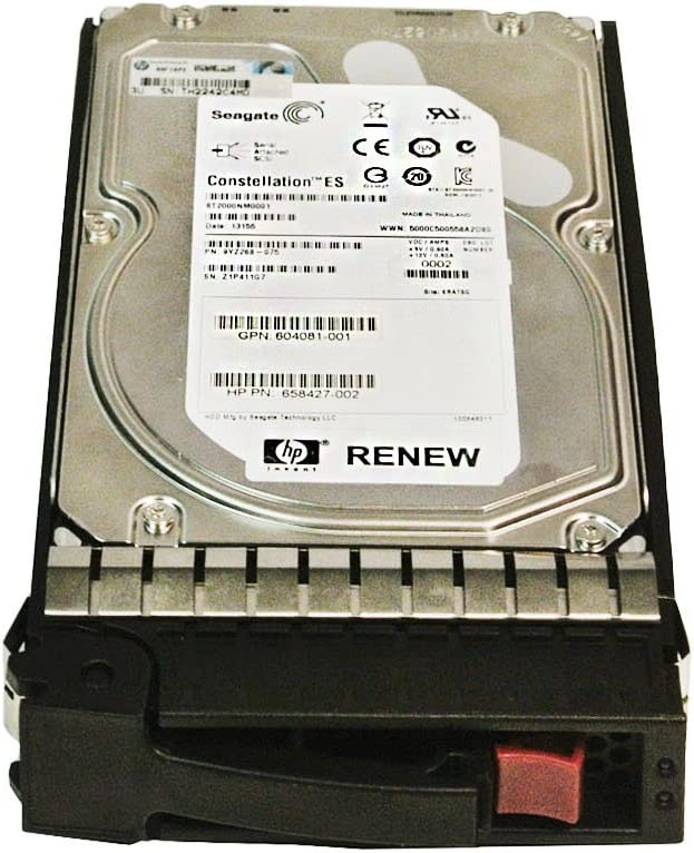 HP 507616-B21 Hard Drive - 2TB - 7200rpm - SAS 600 - Serial Attached SCSI - 3.5-Inch - Internal