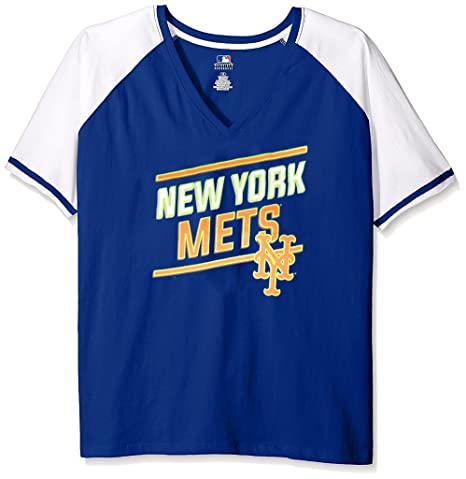 uk availability d7c14 b7d37 Amazon.com : VF New York Mets MLB Womens Majestic Spirit ...