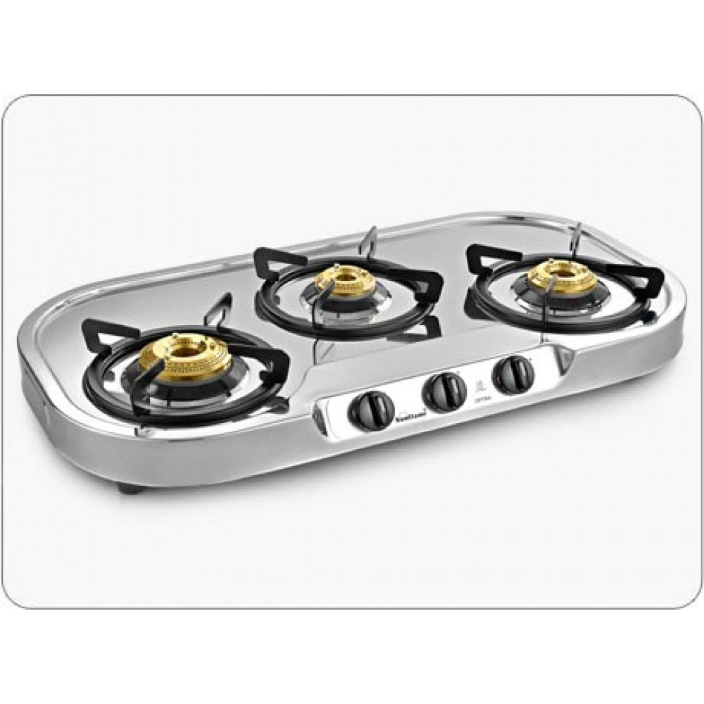Great Buy Sunflame Optra 3 Burner Gas Stove Online At Low Prices In India    Amazon.in