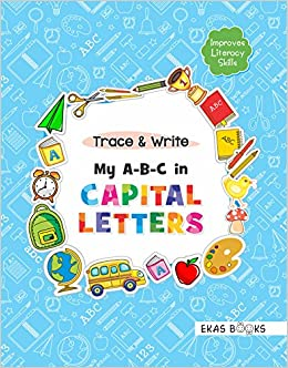 Buy alphabet book for 3 years old kids trace write my a b c in buy alphabet book for 3 years old kids trace write my a b c in capital letters book online at low prices in india alphabet book for 3 years old kids expocarfo Gallery