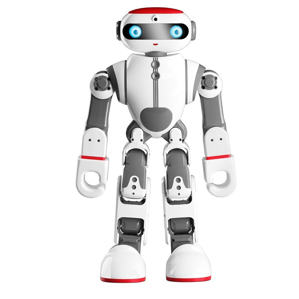 Intelligence Kids Toy Robot Dobi Intelligent Humanoid Robot Voice/APP Control Toy with Dance Yoga Storytelling for Children Gifts