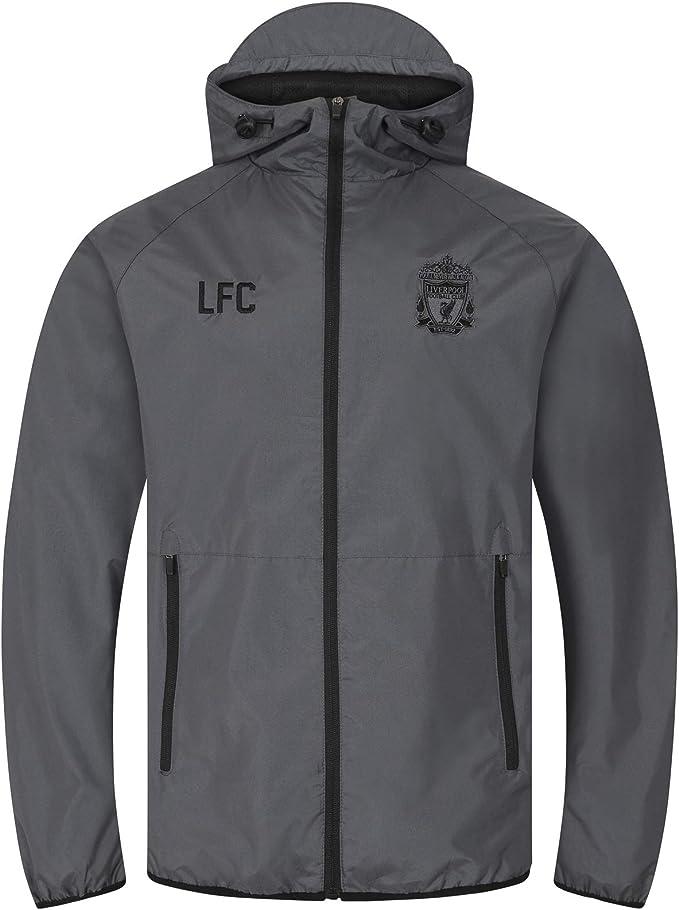 Liverpool FC - Chaqueta Cortavientos Oficial - para Hombre ...