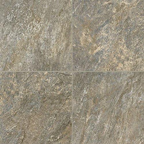Armstrong Cuarzo Alterna Reserve Vinyl Tile Flooring, Iron Blue