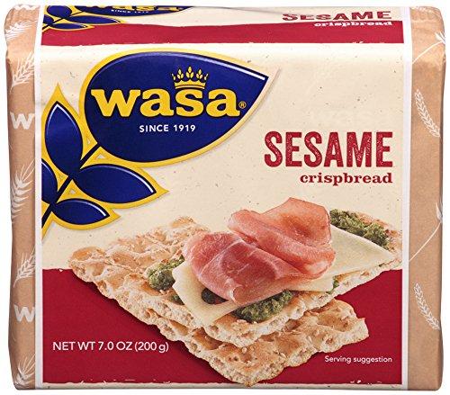 Flour Seeds Sesame (Wasa Sesame Crispbread, 7 Ounce (Pack of 12))