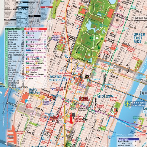 nfld GUIDE of New York City Map and Listings Landmarks – Map of Nyc with Landmarks