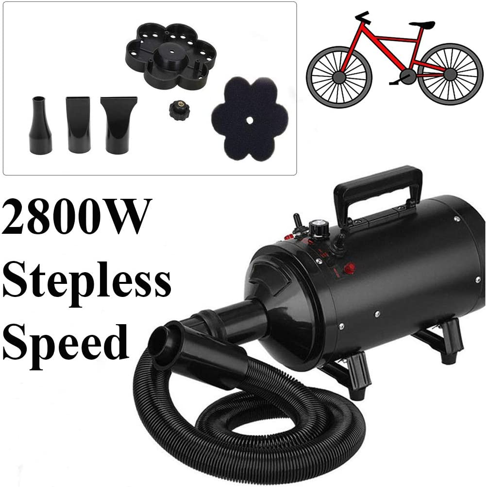 Portable Bike Dryer for Dusting Drying and Valeting Motorcycles and Other Vehicles with High Pressure Air Flow Powerful Bike Dryer Blower,Car Air Dryer Blower Motorbike Dryer
