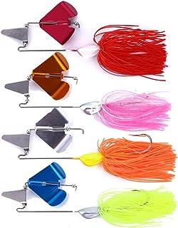 Leurres De Pêche 22G Appâts Tournants Paillettes Métalliques Leurres Artificiels avec Crochets De Haute Qualité 4pcs