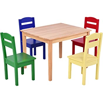 Amazon.com: KidKraft Nantucket Big N Bright Table and ...