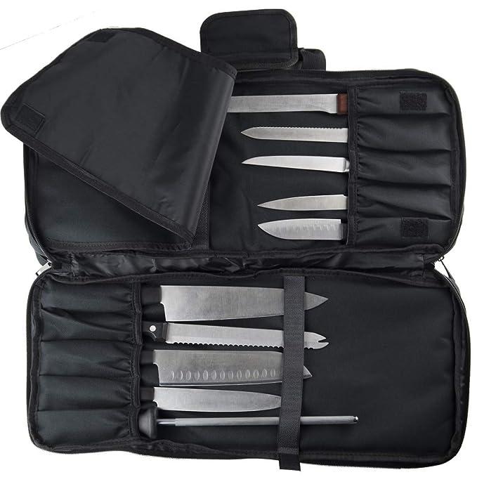 Amazon.com: Estuche para cuchillos de chef | 3 ...