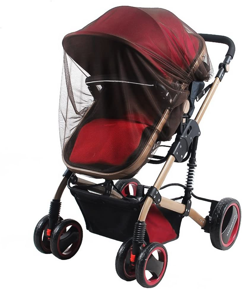 Buggy Washable and Durable High Quality Baby Carrier Safe Mesh Protective Net Pram Universal Stroller Mosquito Net Full Cover Elastic Insect Net/for Pushchair