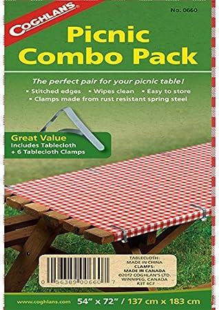 Coghlans Picnic Garden Metal Tablecloth Clamps