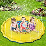 Best Gifts For 1 Year Old Girls Waters - Lzellah Splash Play Mat & Sprinkler for Kids Review