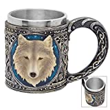 Call-of-the-Wild Fantasy Wolf 12-oz Coffee Mug Tankard