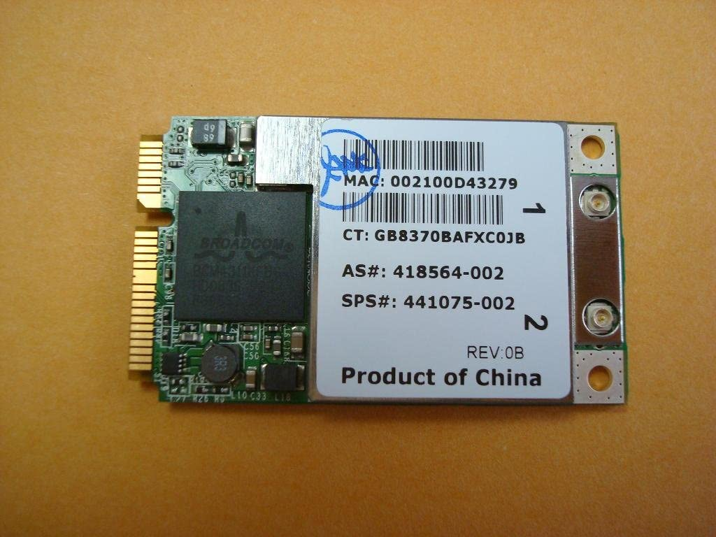 USB 2.0 Wireless WiFi Lan Card for HP-Compaq Pavilion Elite HPE-360z