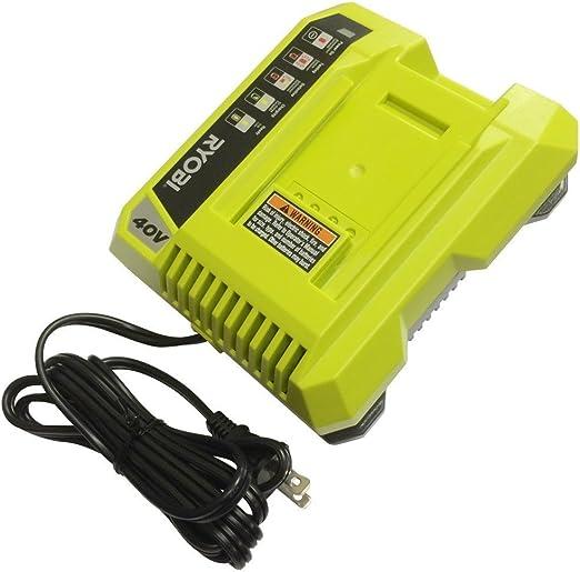 Amazon.com: Ryobi zrop401 40 Volt Li-Ion, Cargador de ...