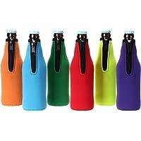 Set 2: Summer Lovin Avery Granero 10 piezas small neopreno cremallera de neopreno aislante para botella de cerveza