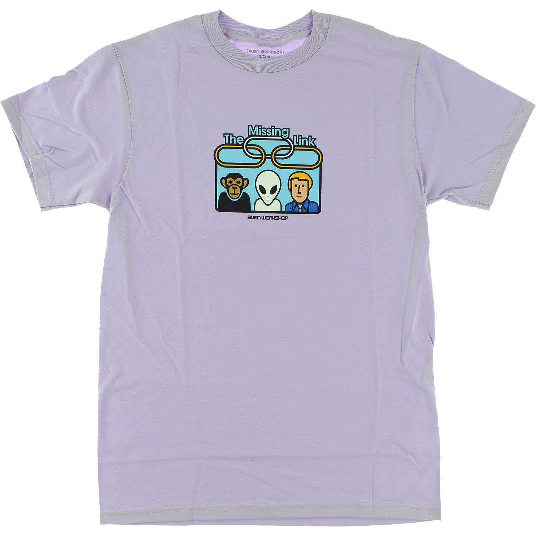 X-Large Alien Workshop Missing Link Orchid Mens Short Sleeve Shirt
