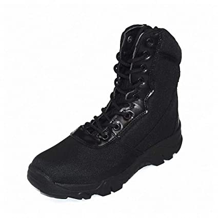 4c2314df369b Amazon.com  Tebapi Mens Backpacking Boots New Men Military Boots Camouflage  and Black Tactical Combat Boots Men Kamuflaj Bot Army Shoes Climbing Shoes   ...