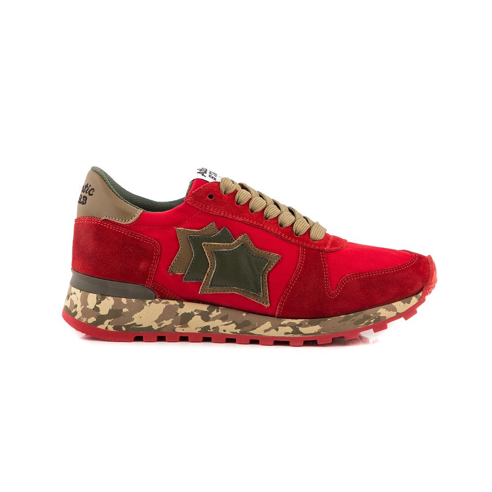 Atlantic Stars Women's ALHENA Trainers Red Rossocamo Red