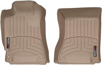 Tan WeatherTech Custom Fit Front FloorLiner for Subaru Forester