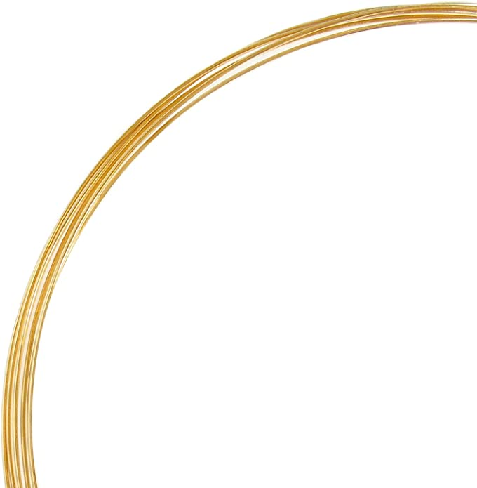 14K Gold Filled Round Wire 14//20 Dead Soft jewelry wrapping 30 GA 0.25 mm