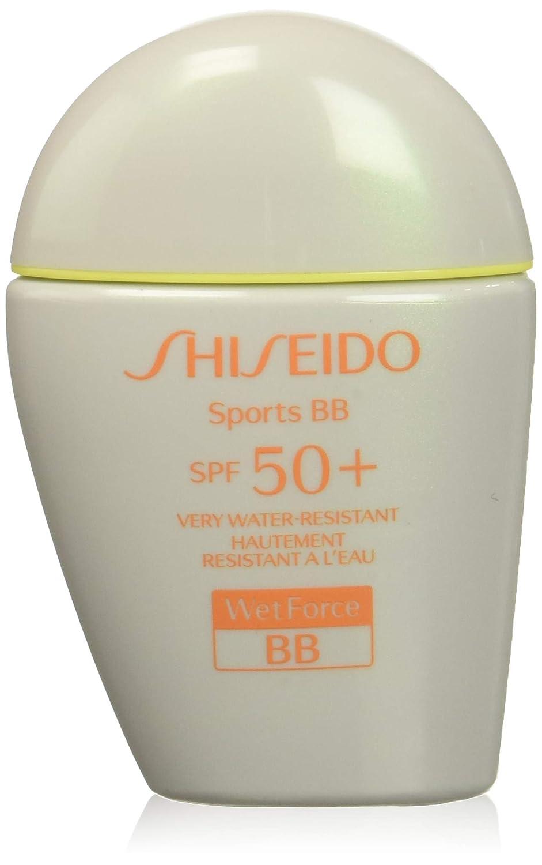 Shiseido Sports Bb Water Resistant Wetforce, Base de maquillaje (SPF50) - 30 ml. 729238134973