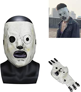 MAGGOT SLIPKNOT BAND FANCY DRESS UP HALLOWEEN WRESTLING MASK ADULT CHILD COSPLAY