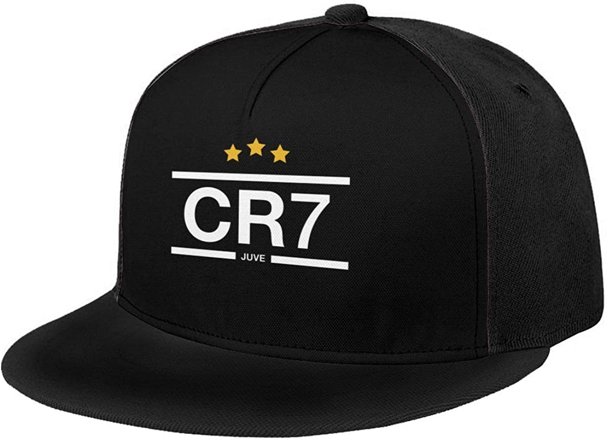 DeniCar Unisex Adjustable Baseball Caps Cristiano-Ronaldo-7-Football Skull Cap